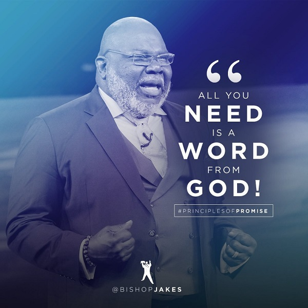 ALL YOU NEED IS A WORD FROM GOD
