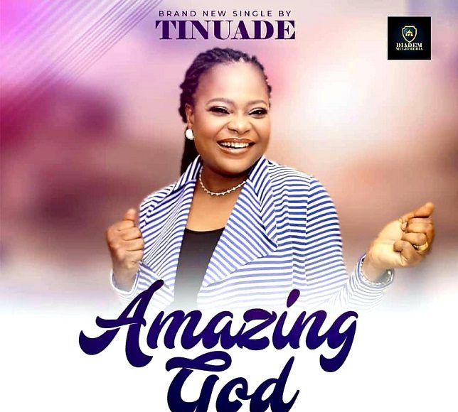 AMAZING GOD (LIVE) BY TINUADE
